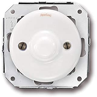 Doble toma telefono 6 vias porcelana blanco pack Fontini 31-706-17-2