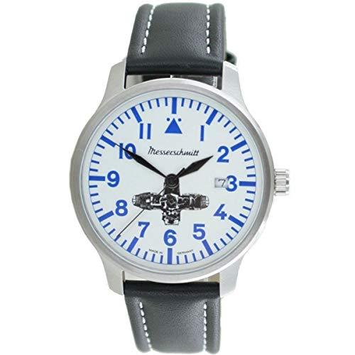 Aristo Herren Messerschmitt Uhr Boxer-Uhr ME-BOXER6 Leder