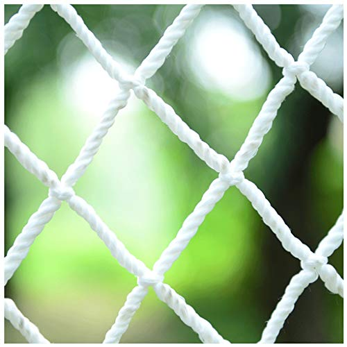 Balcony safety net children's stairs safety rails net railing fence net construction stadium garden multi-purpose net hanging clothes net trampoline hammock swing (Size : 4 * 5M(13 * 16ft))