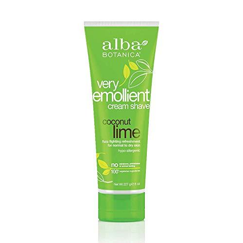 Alba Botanica Very Emollient Coconut Lime Shave Cream