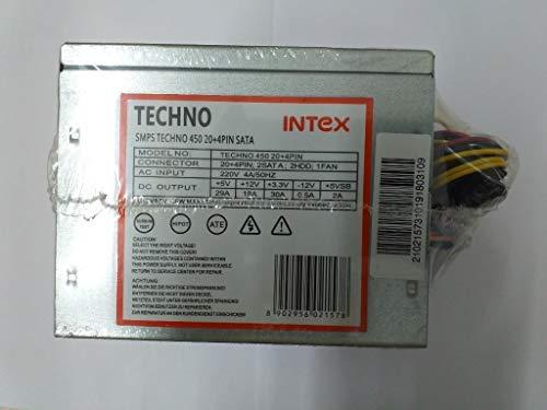 Intex SMPS Techno 450 20 + 4pin Sata
