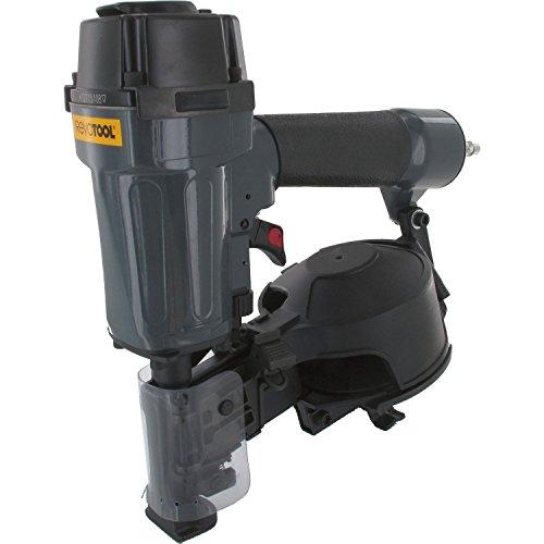 REVOTOOL Dachpappnagler DN1645C Nagellänge 19 - 45 mm, Druckluftnagler für Dachpappnagelrollen