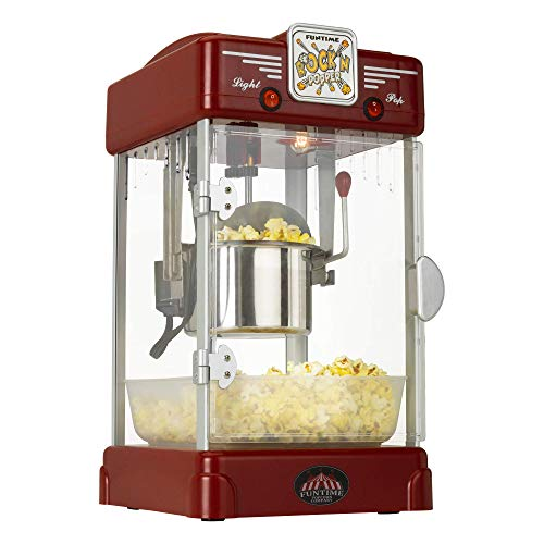 Sale!! FunTime 2.5-Ounce Rock'n Popper Hot Oil Popcorn Machine