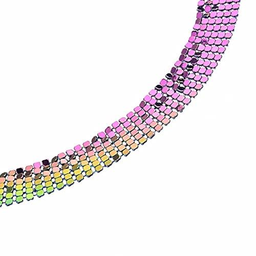 WJZB Chic Brillante Diamantes de imitación de Cristal Liga Pierna Muslo Cadena Playa Cuerpo joyería 8 Colores Sexy Discoteca Accesorios para Mujeres señoras