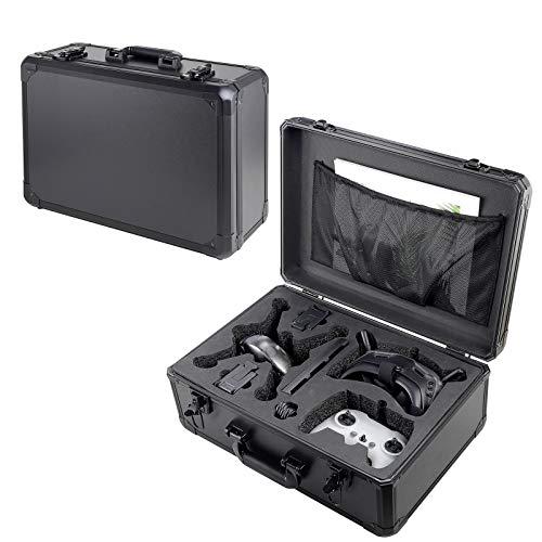 DJFEI Estuche rígido para dji FPV Combo Drone y Accesorios, Estuche de Transporte Profesional Impermeable para Maletas para dji FPV Drone Accesorios (Negro)