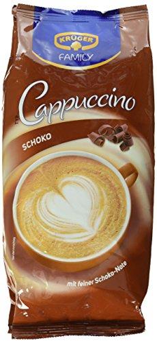 KRÜGER Family Cappuccino Schoko, 4er Pack (4 x 500 g)