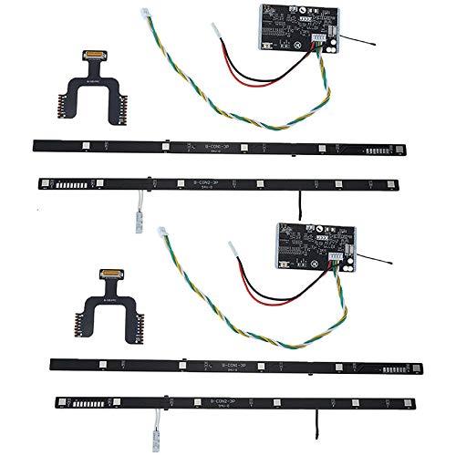 Didad Controlador de Placa de Circuito BMS Tablero de Batería para Mijia M365 M187 Piezas de Repuesto de Scooter Eléctrico 2 Conjunto
