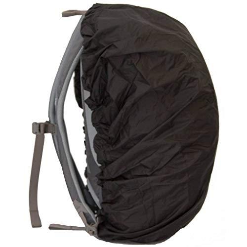 LOWLAND OUTDOOR Daypack Raincover Housse Sac à Dos, L500, Noir, Noir