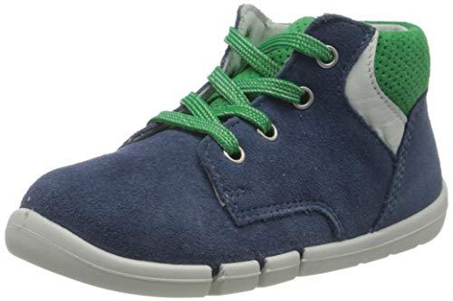 Superfit Baby-Jungen Flexy Sneaker, Blau (Blau/Grün 80), 19 EU