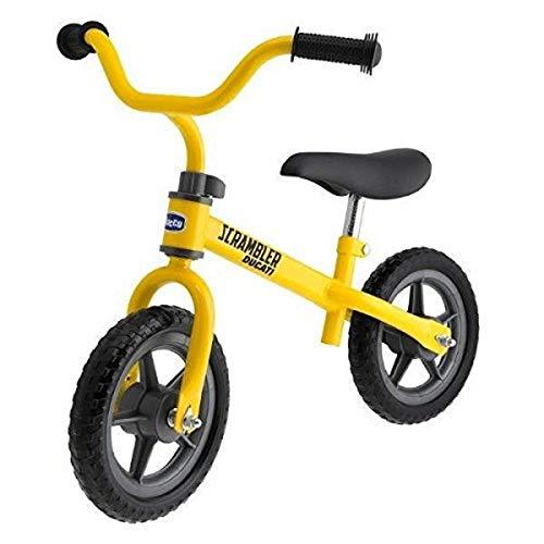Chicco Ducati Scrambler Laufrad für Kinder von 2-5 Jahren, Kinderfahrrad ohne Pedale zum Ausbalancieren für Jungen und Mädchen, verstellbarer Sitz und Lenker, Max 25 kg, Kinderspielzeug 2-5 Jahre
