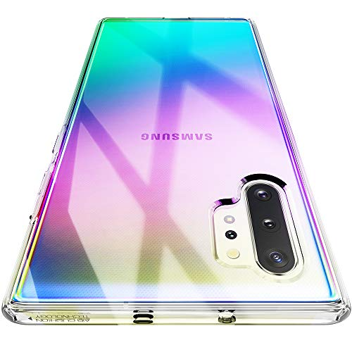 Spigen Liquid Crystal Coque Compatible avec Samsung Galaxy Note 10 Plus - Crystal Clear