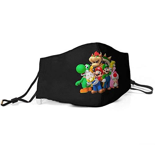 Winterschal Männer Frauen Kinder Anti Staub Super-Mario-Bros- Warmer Nasenmund Gesicht Gesichtsschal