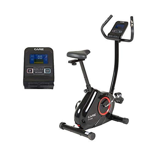 Care Fitness - Vélo Motorisé CV-5560 - 16 Programmes - Freinage Magnétique, Transmission par Courroie - 16 Niveaux de Résistance - Masse d'Inertie 7 kg