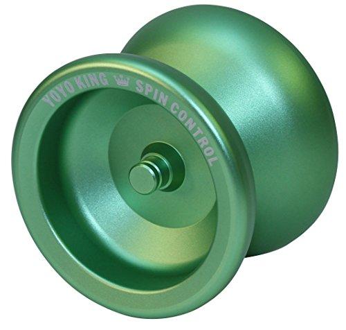Yoyo King Spin Control Metal Yoyo with Narrow Responsive and Wide Nonresponsive C Bearing and Extra Yoyo String