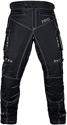 ARD Motorcycle Pants Men Biker Dual Sport Motorbike Waterproof, Windproof Riding Pants All-Weather,...