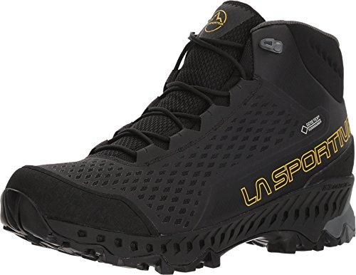 LA SPORTIVA Stream GTX Hiking Shoe, Black/Yellow, 47