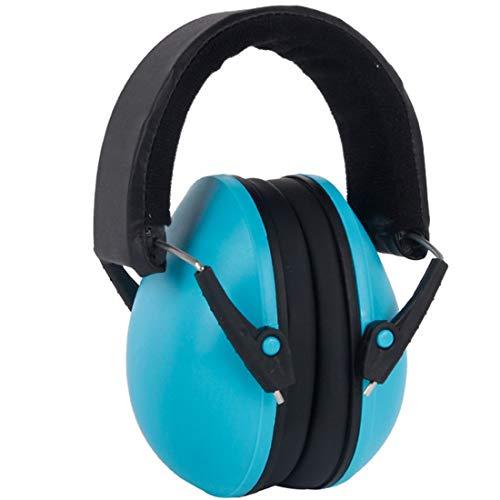 "jiumoji Babys Girls Boys Noise Cancelling Reduction Soundproof Earmuffs Waterproof Headphone for Children Best Gifts (-Blue, 13CM/5.1"")"