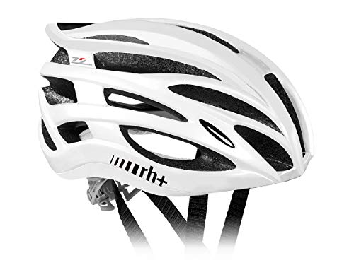 Zero RH+ Two In One - Casco de ciclismo para adultos, color multicolor - blanco, talla XS/M