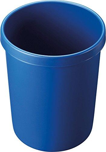 """Helit H6106234 - Papierkorb """"the german"""" 45L, blau"""