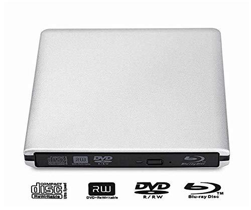 XZYP USB 3.0 Externa De BLU-Ray BD-RE Drive Quemador Grabadora De DVD Grabadora DVD Writer +/- RW DVD-RAM Jugador 3D