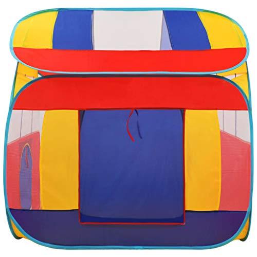 vidaXL Spielzelt mit 300 Bällen Handtasche Pop Up Spielhaus Kinderspielzelt Kinderzelt Babyzelt Bällebad Spielzeug Zuhause Garten XXL