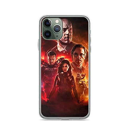 Compatible con iPhone Samsung Galaxy M11/M12 /Xiaomi Redmi Note 10 Pro/Note 9/Poco X3 Pro Funda Bloodshot Vin Jimmy Harting and KT Cajas del Teléfono Cover