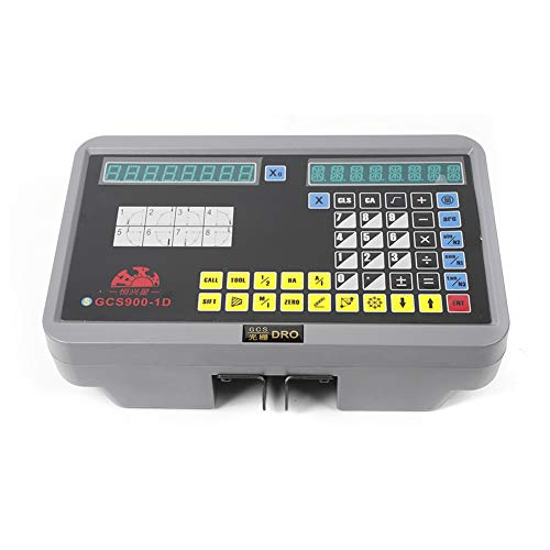 Best Bargain GCS900-1D Single Axis Milling Machine Grating Ruler Digital Display Meter LCD Digital D...