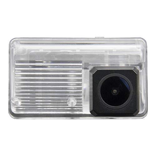 170° HD Rückfahrkamera 1280 * 720 Pixel 1000TV Linien Kamera Rückfahrkamera wasserdicht Nachtsicht Rückansicht Einparkhilfe Kennzeichenleuchte für Toyota Corolla Verso 2004-2100