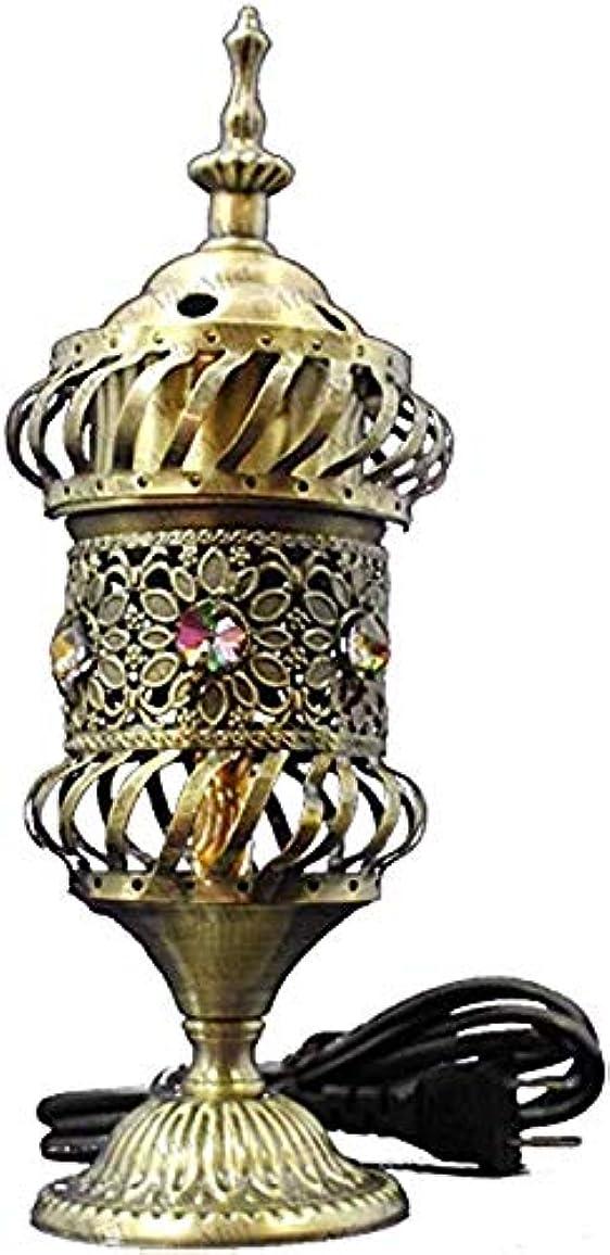 バドミントン差別化する楽なOMG-Deal Electric Bakhoor Burner Electric Incense Burner +Camphor- Oud Resin Frankincense Camphor Positive Energy Gift - WF-075 - Grey