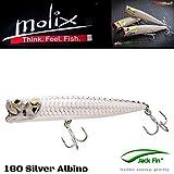 MOLIX POPPER 130T COL. SILVER ALBINO