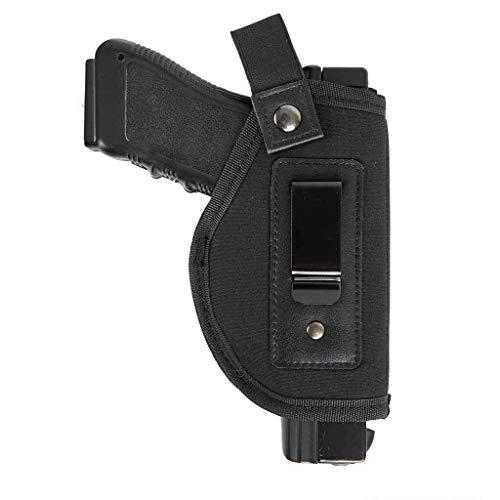 DecoDeco Fondina per Pistola Nascosta Fondina per Cintura Interna, adatta per M&P Shield 9mm / GLOCK 26, 27, 29, 30, 39, 28, 33, 36, 43 / Ruger LC9 [nuova edizione]