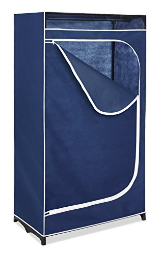 Whitmor Clothes Closet – Freestanding Garment Organizer with Sturdy Fabric Cover