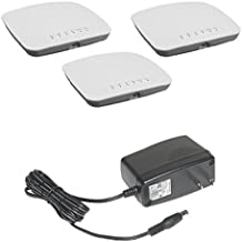 NETGEAR 3-Pack AC WiFi Business Access Point with NETGEAR Insight app for easy management (WAC510) and Power Adapter Bundle