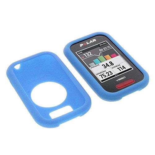 Funda para Polar V650 protectora silicona carcasa protección azul
