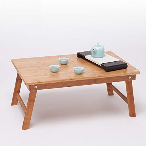 F-S-B Bamboo Opvouwbare Laptop Desk verstelbare hoogte Lade Tafel Bed Tafel salontafel