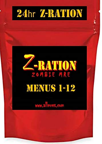 24 hr Z-Ration MRE (FSR) 1st Insp.Date 2020 - 2022 / NEW Z-Ration Zombie MRE line! (Menu 2: 24 hr Z-Ration)