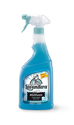 La Antigua Lavandera Spray Multiuso Limpiacristales - 8 Recipientes de 750 ml - Total: 6000 ml