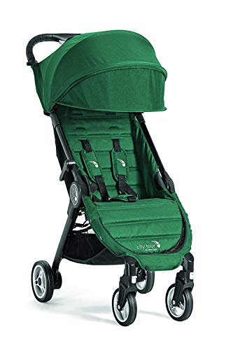 Baby Jogger City Tour Stroller | Compact Travel Stroller | Lightweight Baby Stroller with Backpack-Style Carry Bag, Perfect for Travel, Juniper
