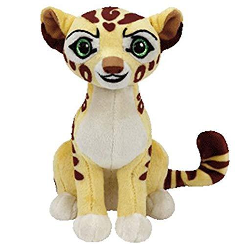 Cartoon Lion Guard Babies Cheetah Knuffels, Zachte Big-Eyed Knuffeldier Collectible Dolls, Verjaardag Kerstcadeau Voor Kinderen 15Cm