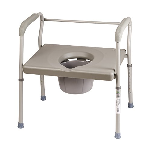 DMI Adjustable Bedside Commode