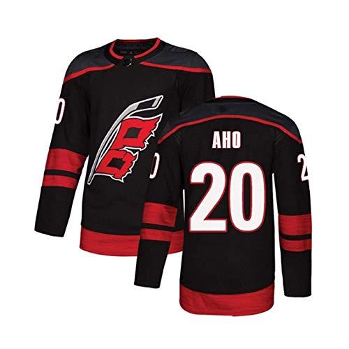 WANGP NHL Hurricane Eishockey Trikot # 14# 37 Svechnikov # 11 Staal # 20 Aho Letters Stitched Numbers Sweatshirt,A20-XXLarge