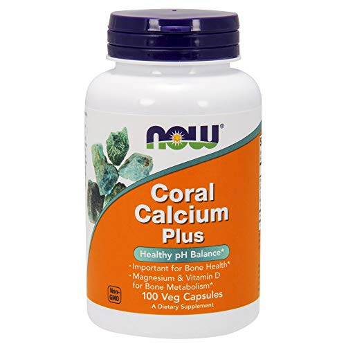 Price comparison product image NOW Supplements,  Coral Calcium Plus,  Bone Health*,  Healthy pH Balance*,  100 Veg Capsules