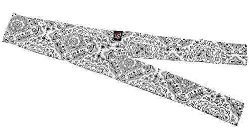 Zan Headgear Cooldanna Paisley Blanc Taille unique taille unique D102