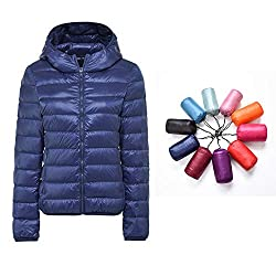 ♥ TINY CARRY-ON BAG --- WEIGHTS LESS THAN AN UNBRELLA. It is great to take on holiday as it can be packed into tiny bag. This duck down jacket can be packed in a small bag, but when you wear it on you will feel so warm just like lying in your bed. ♥ ...