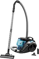 Rowenta RO3731 Compact Power Cyclonic; Zakloze stofzuiger; Stofzuiger; Stil; 750 watt; 1,5 liter inhoud; zwart/blauw*