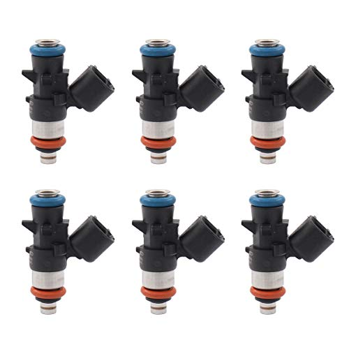 NewYall Pack of 6 Fuel Injectors