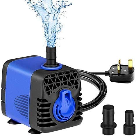 水中ポンプ 小型 静音 水槽循環ポンプ アクアリウム 流れ調節可能 水族館噴水池ポンプ 水サイクル 屋外 池 プール 水槽 水耕栽培 装飾 ソーラー水中ポンプ フローティング 噴水 排水ポンプ (10W)
