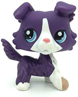 Littlest Pet Shop Collection LPS Animals Purple Collie Dog Pug Very Rare