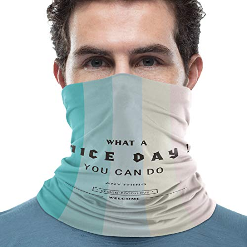 1 Piece dustproof neck gaiter scarf :19x9.5Inches,Stretchable & Reusable,easy carry Premium Polyester fabric,Durable,lightweight,breathable,comfortable,ultra soft,quick drying Dust, wind,cold weather,UV and sun protection,prevent the spread of drople...