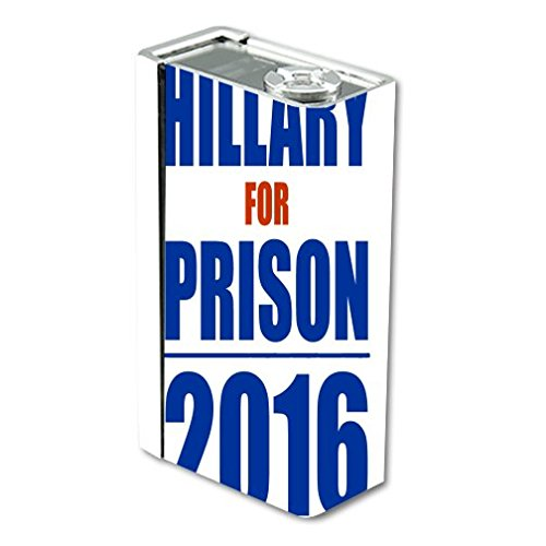 Decal Sticker Skin WRAP Hillary for Prison for Smok X Cube BT50